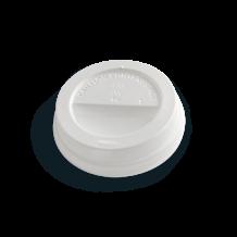 Plastic Lid-Ø80-White