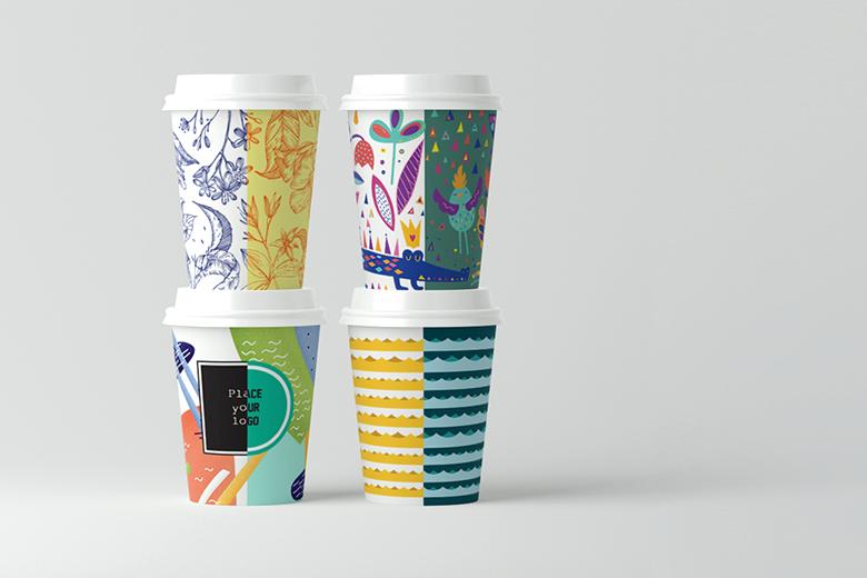Skapa din egen pappersmugg design!