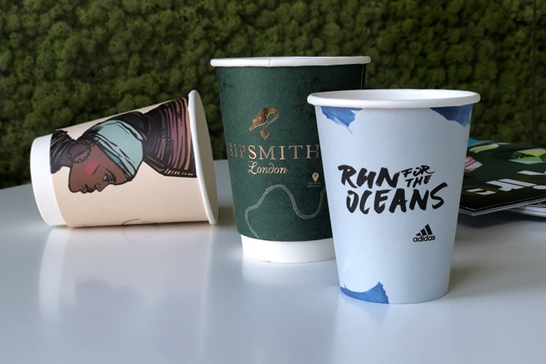 Custom design paper cups only from 500 pcs.!