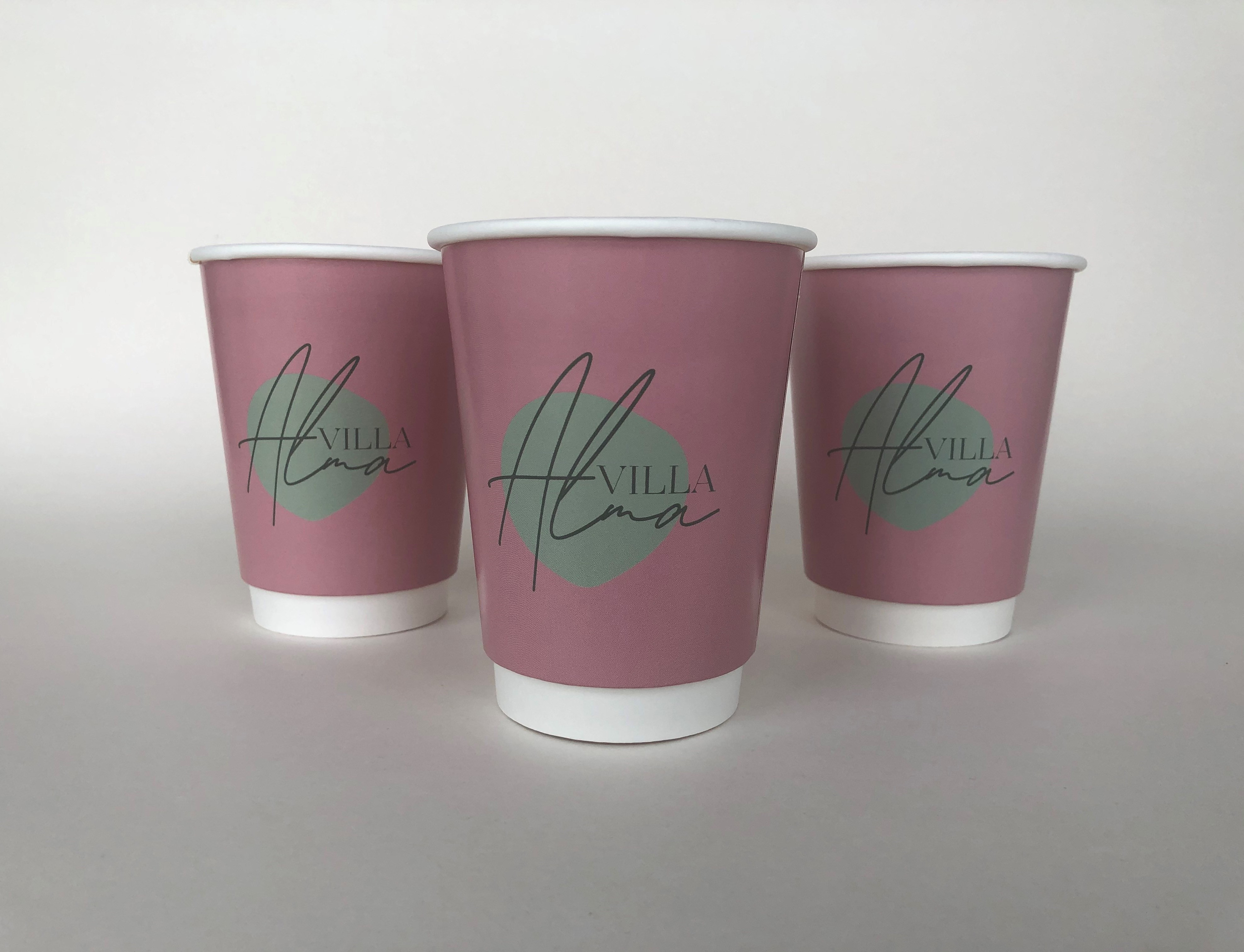 Double Wall Gloss Paper Cup