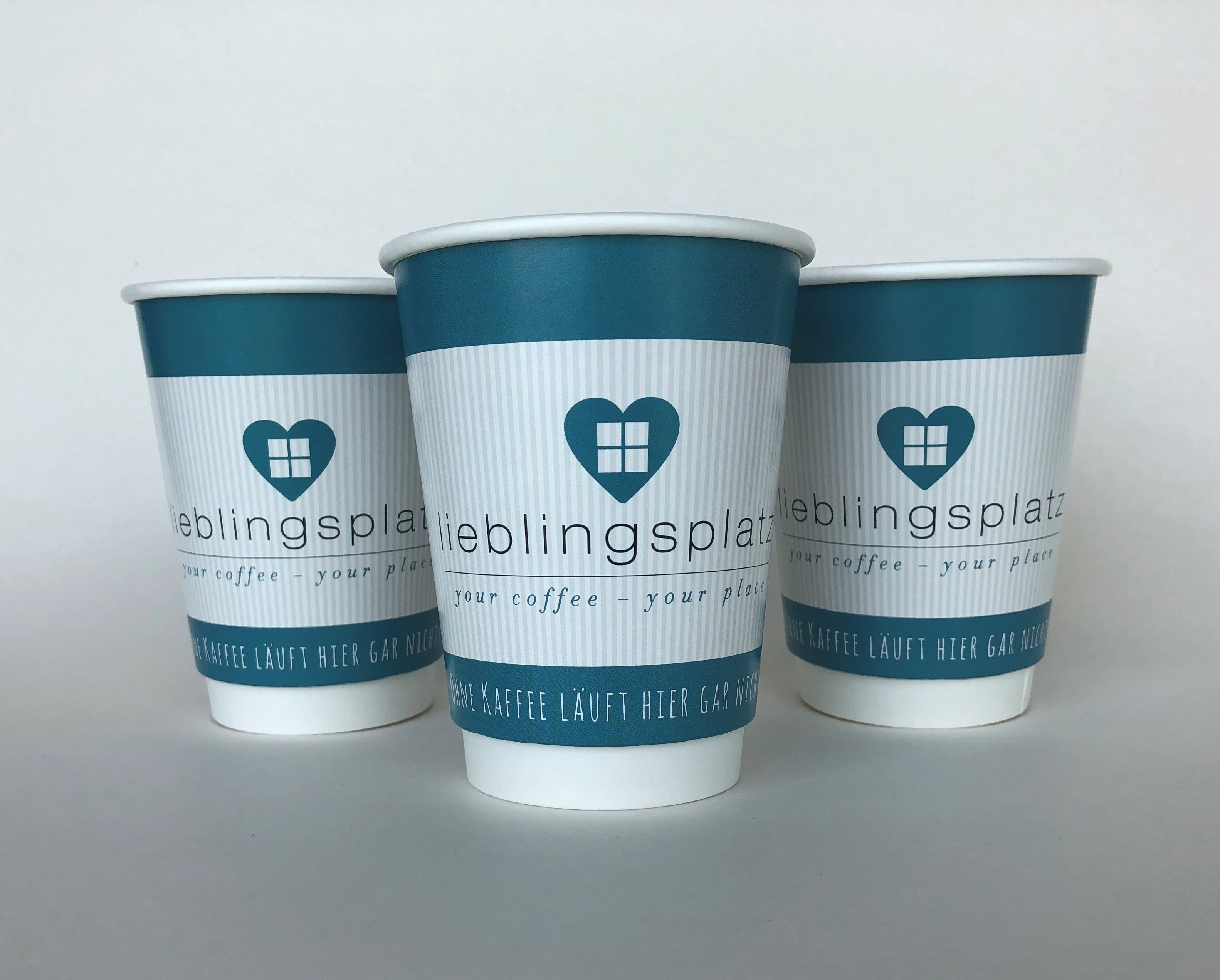 Stylish Double Wall Gloss Cup