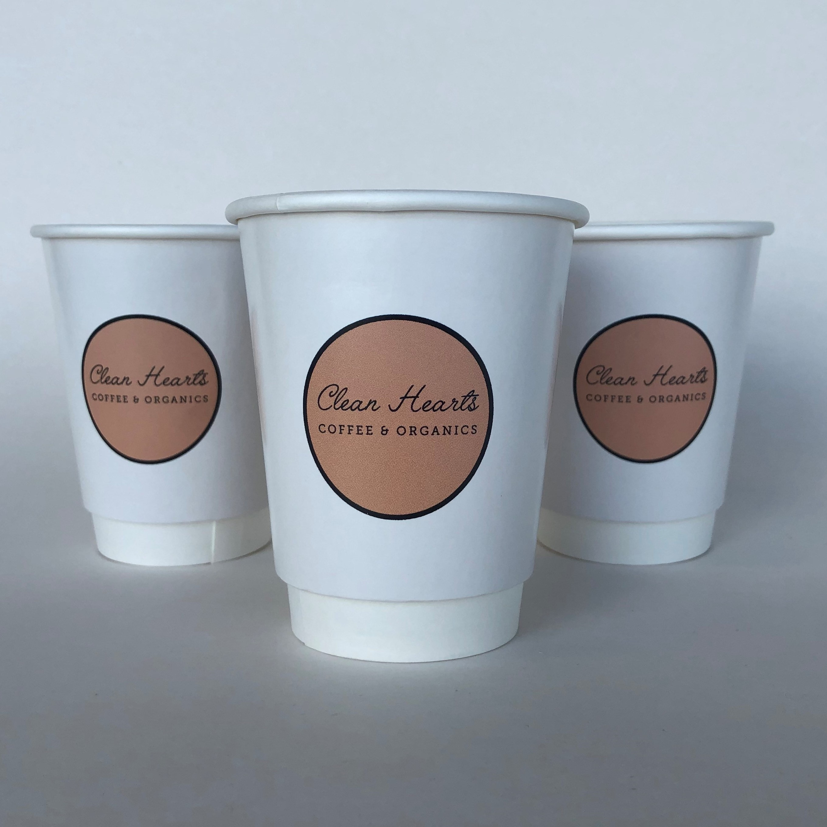 White Gloss Paper Cups