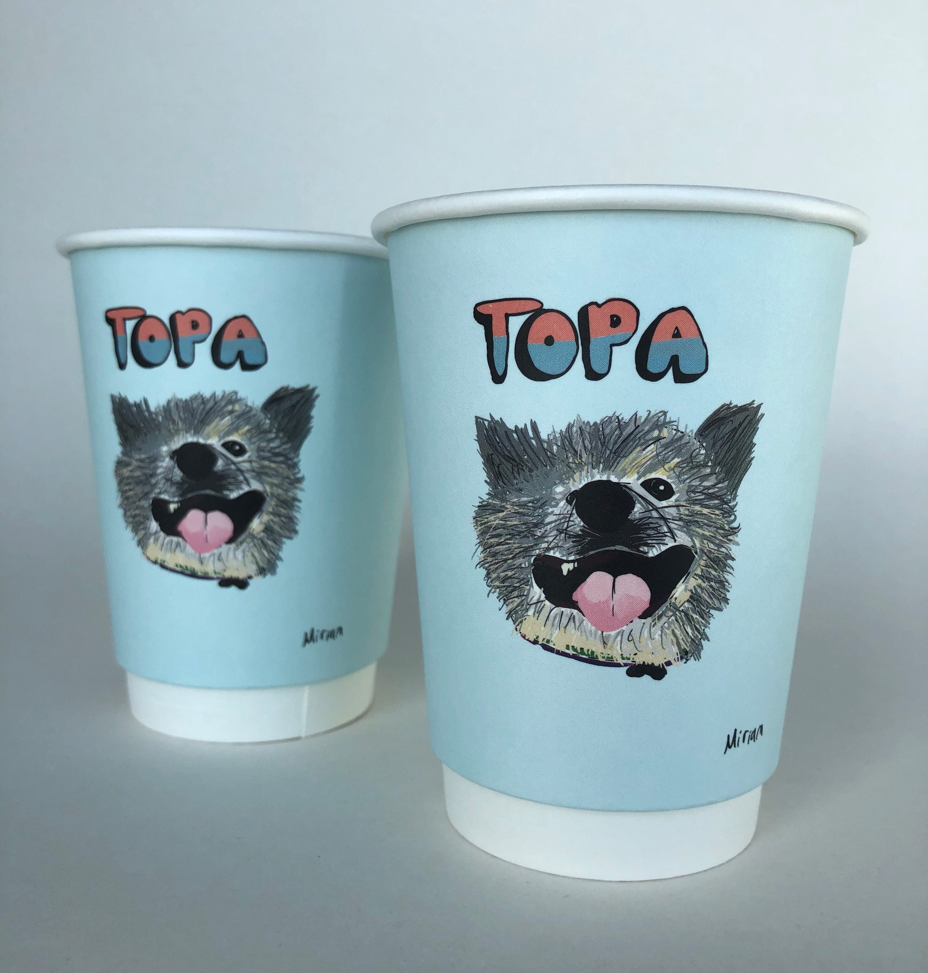12oz Double Wall Paper Cup
