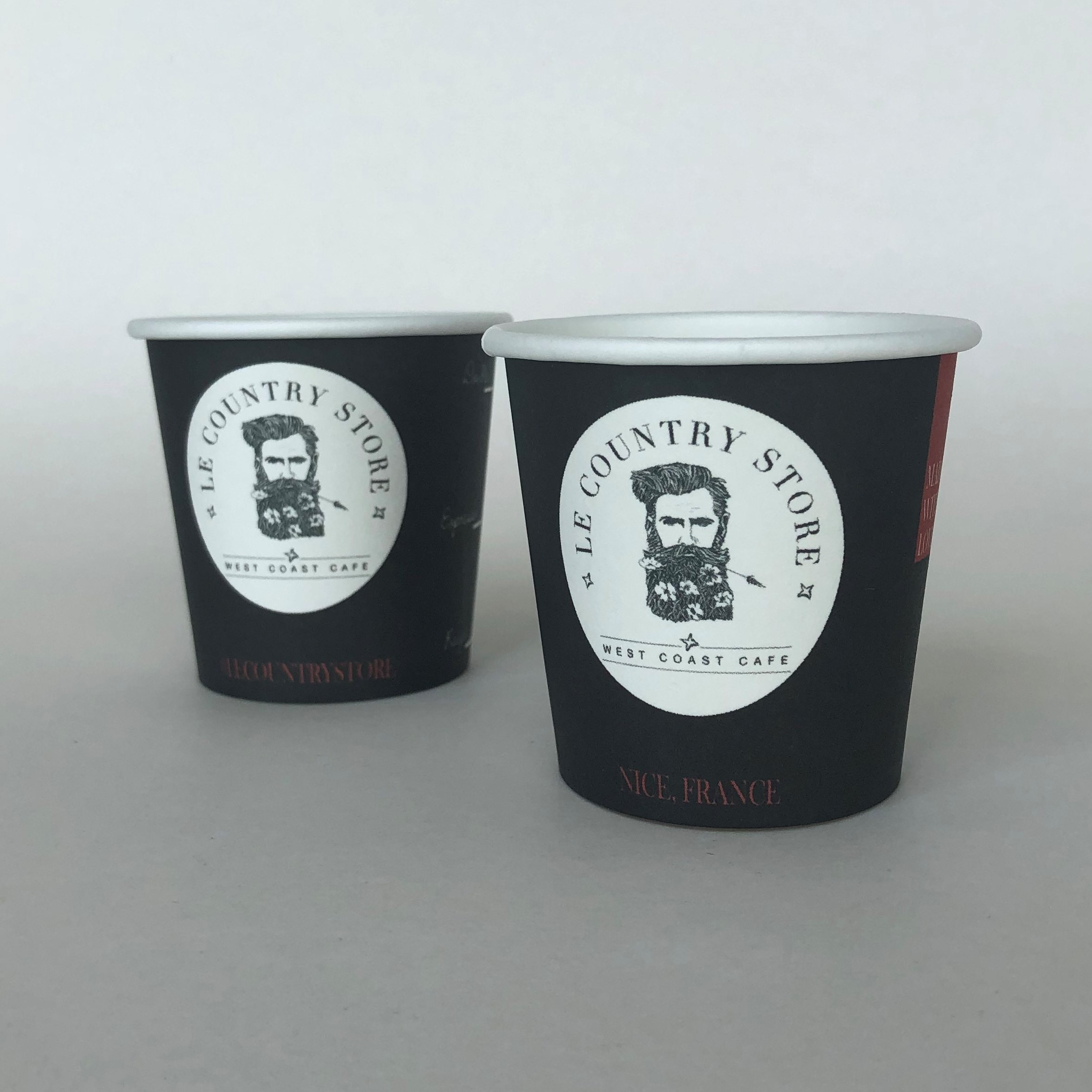 Black 4oz Paper Cups
