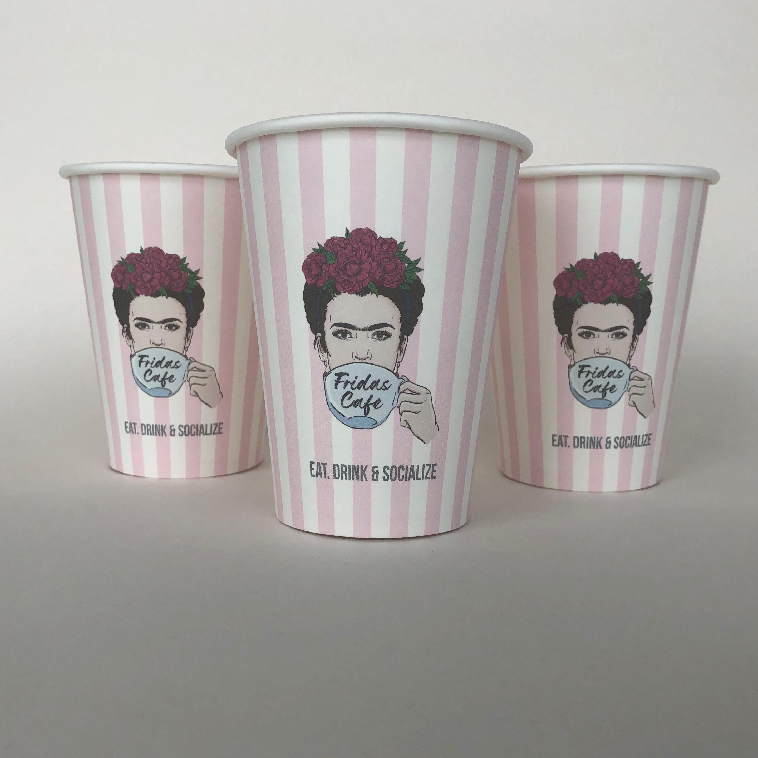 Single Wall Stylish Paper Cup