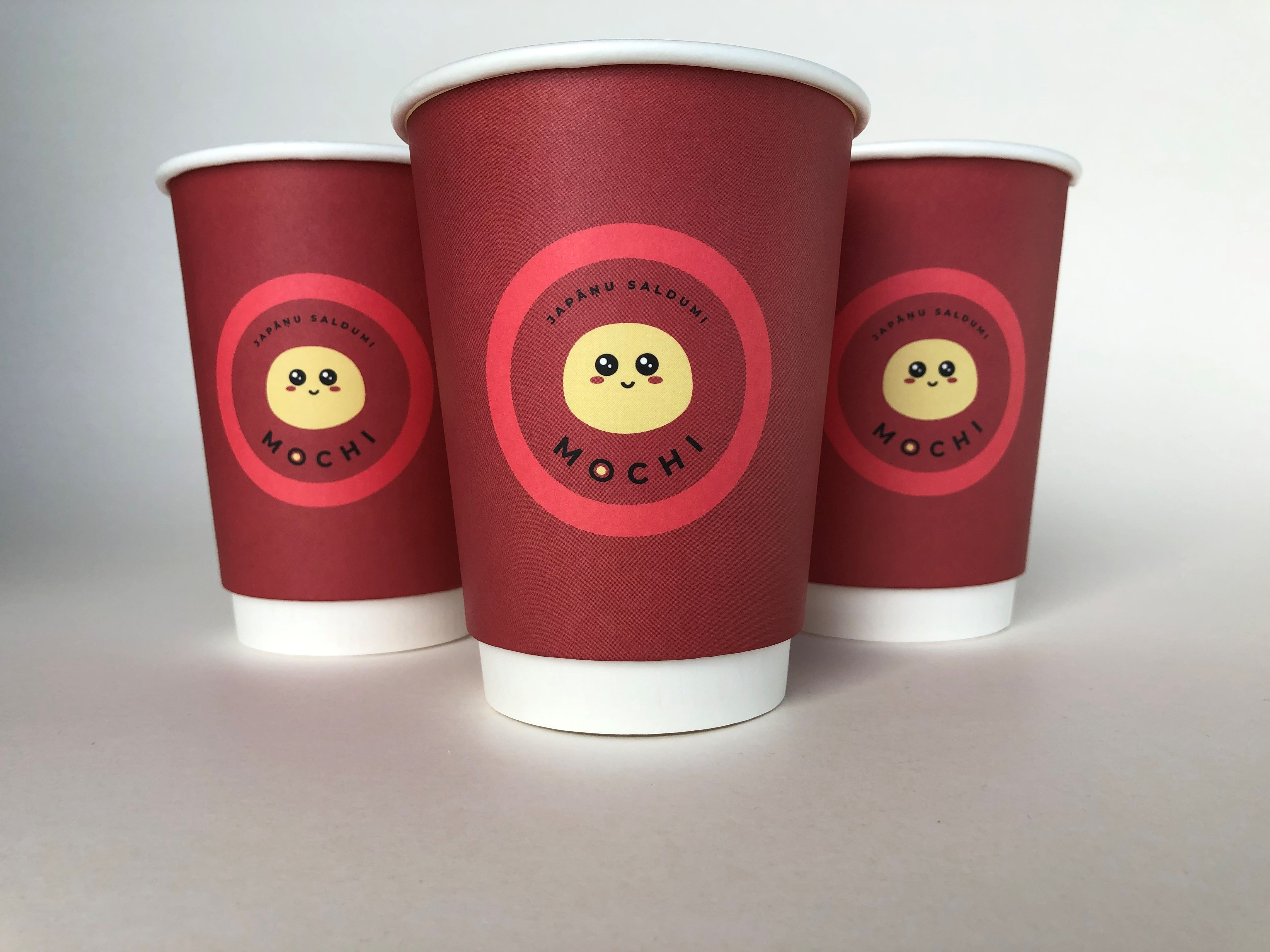 Double Wall Red Cup