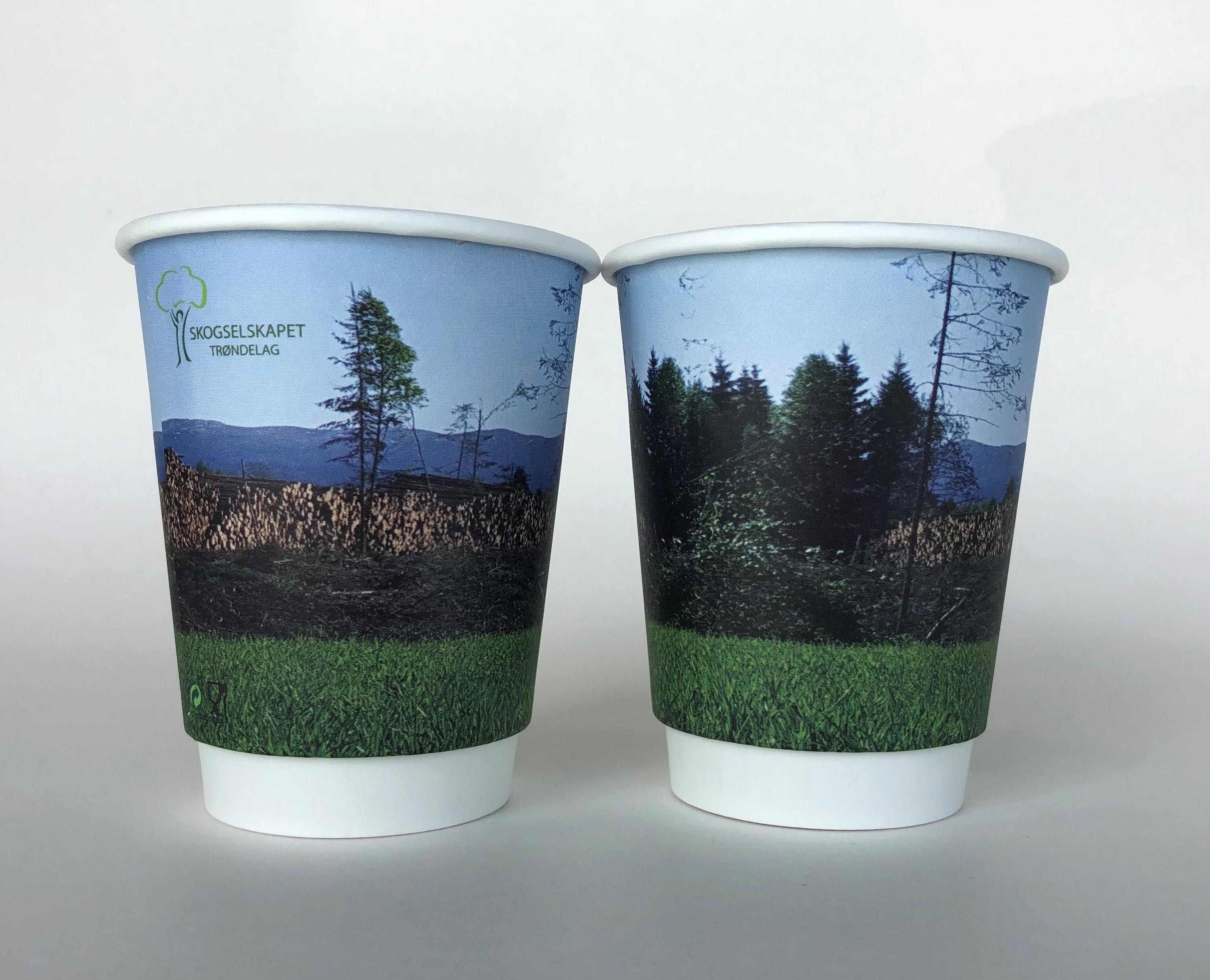 Paper Cup With Custom Design