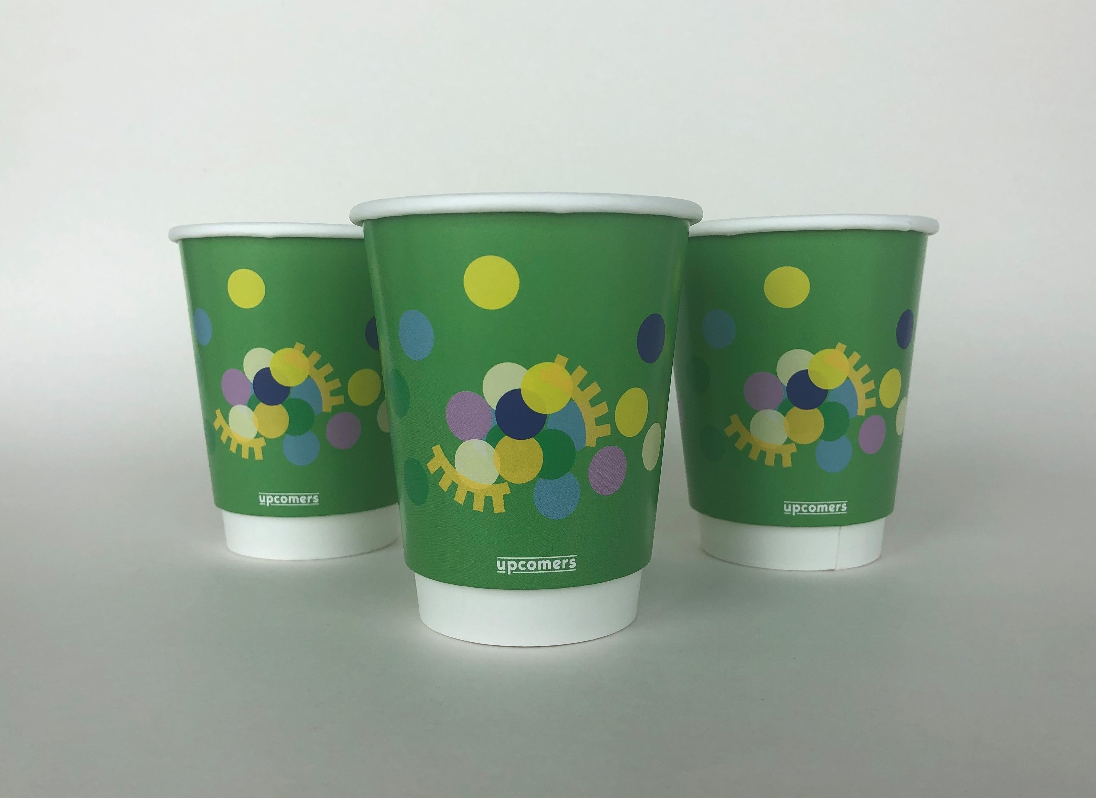 Green Gloss Paper Cup