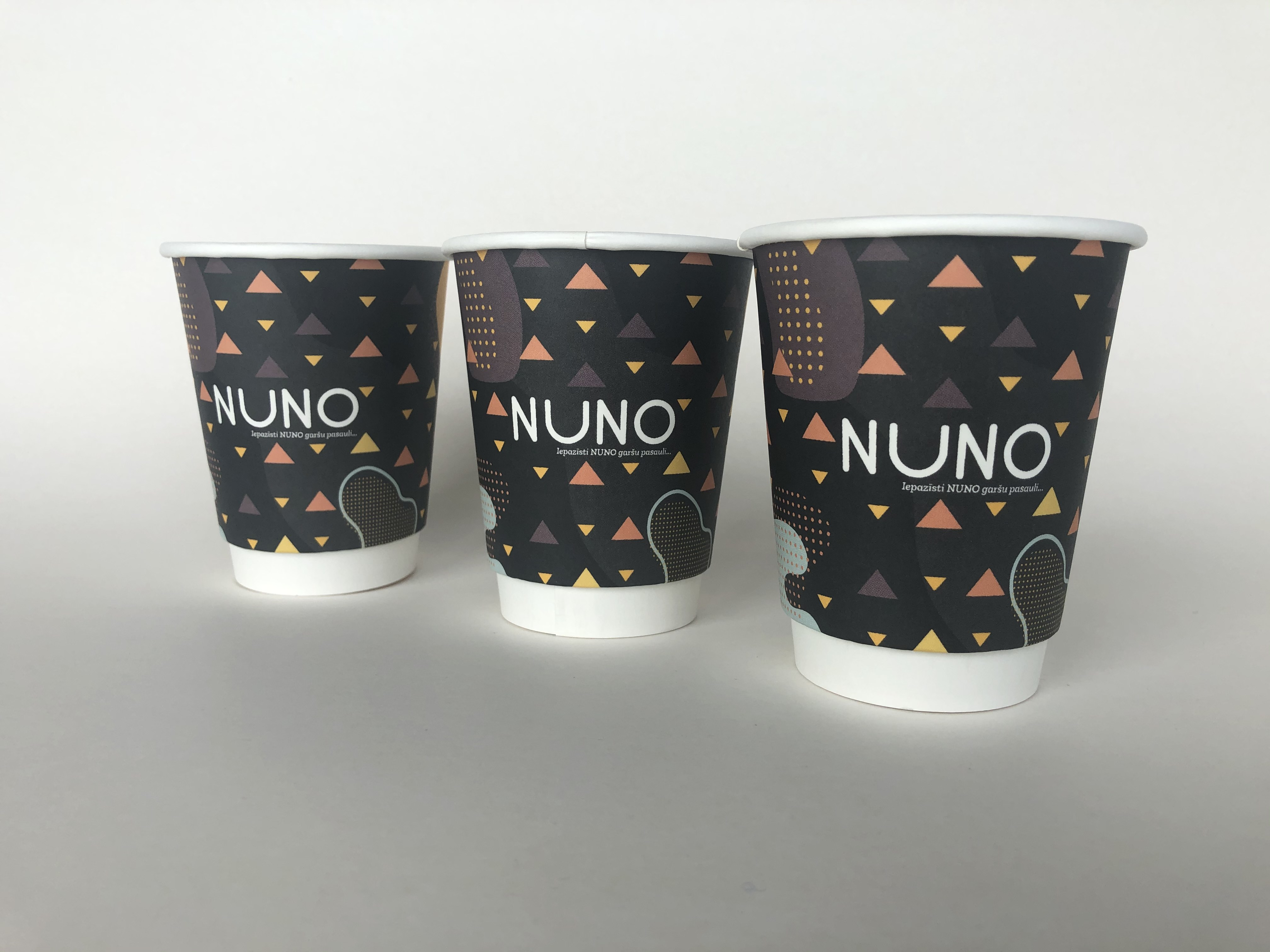 Double Wall Paper Cups With Custom Design