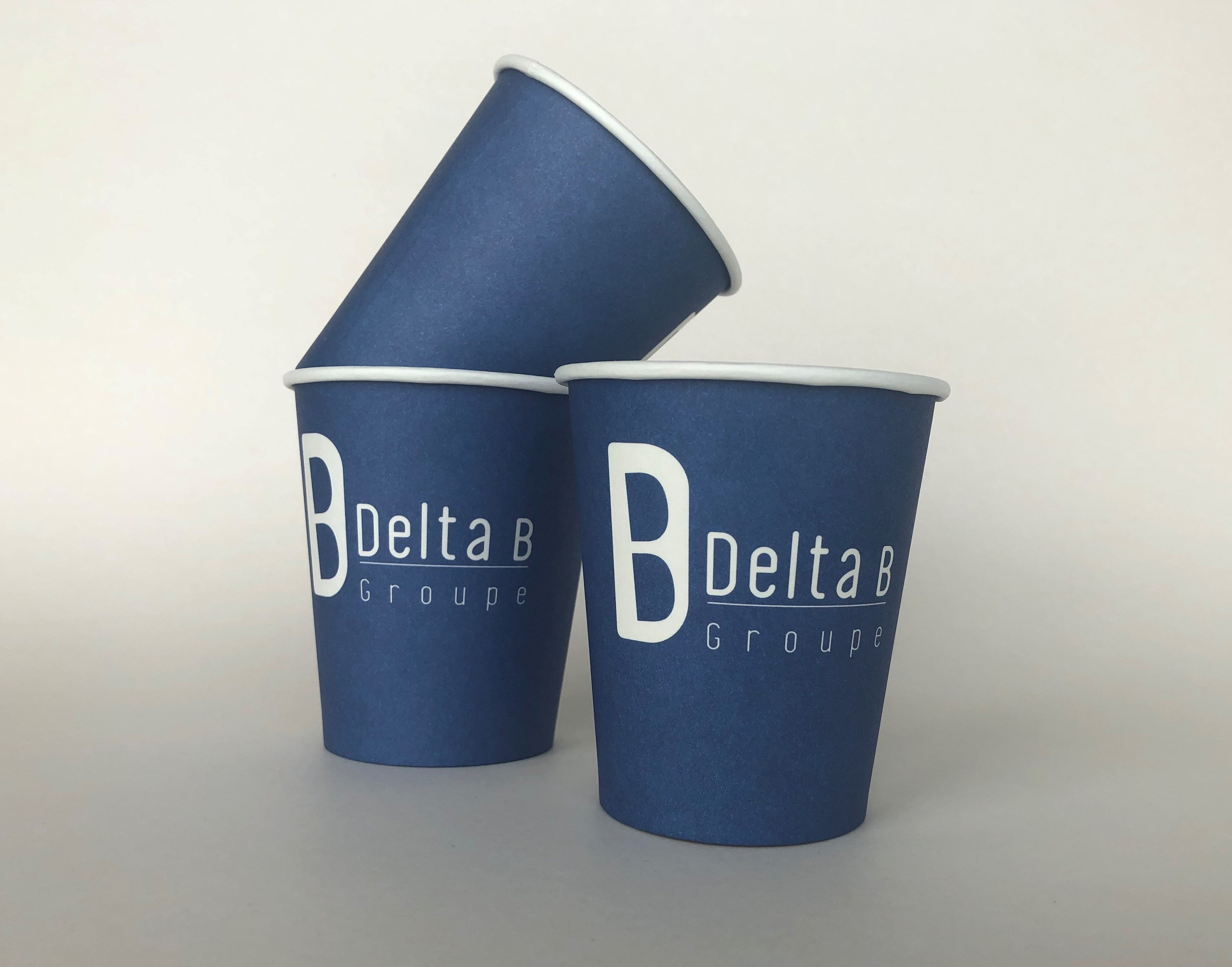 Blue Single Wall Paper Cup