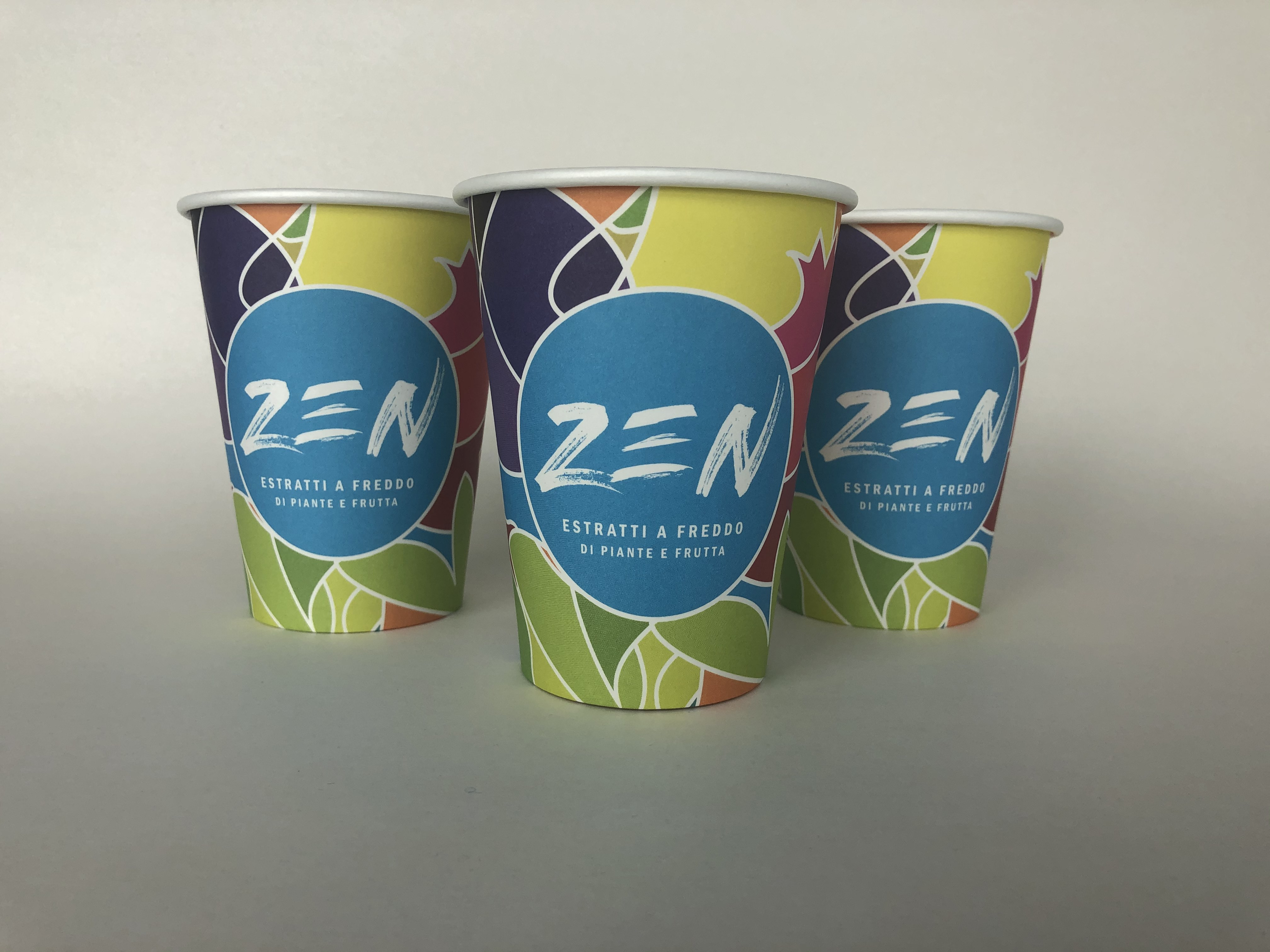 Colorful Double Wall Cups