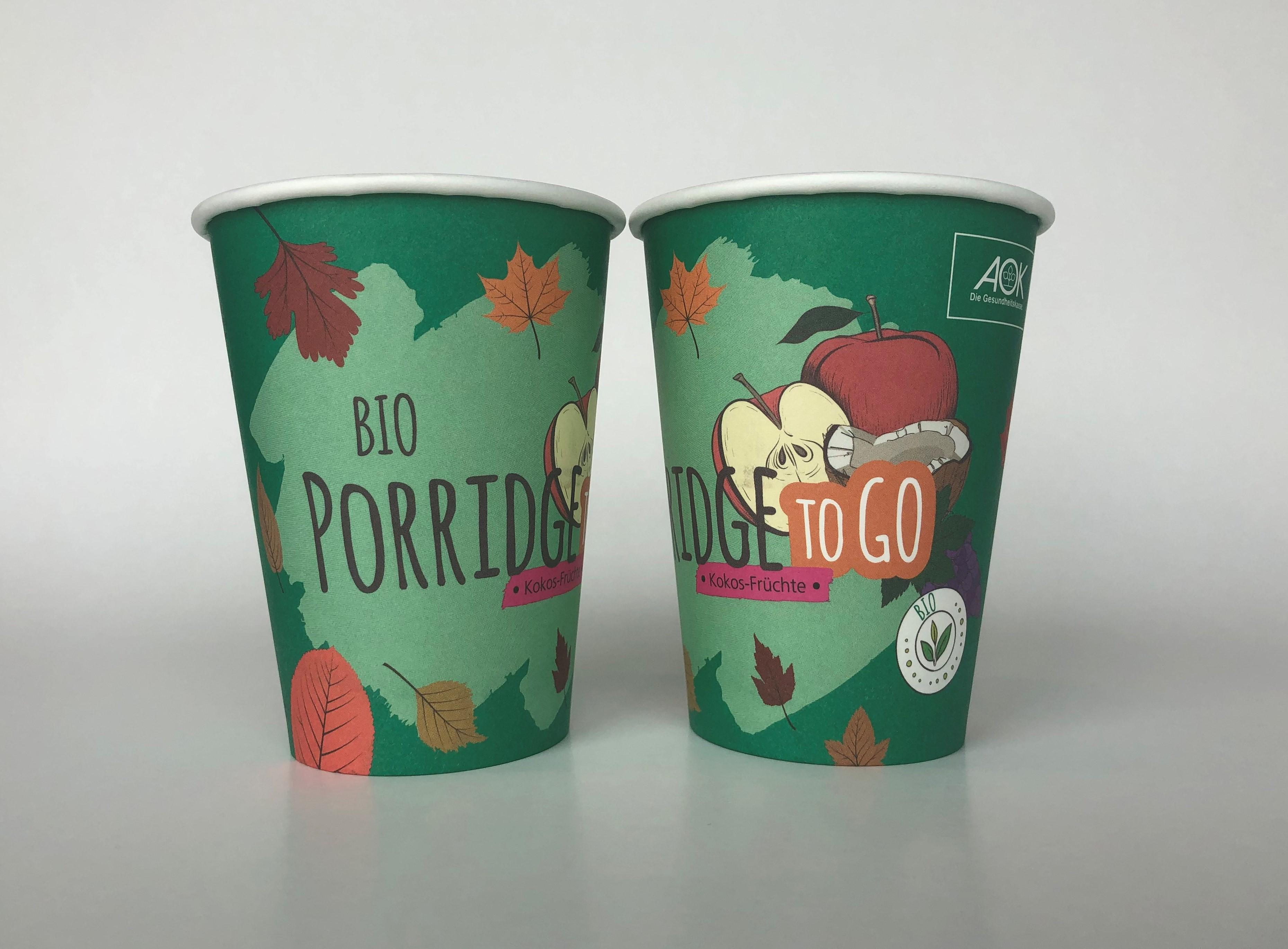 Custom Printed Single Wall Paper Cup