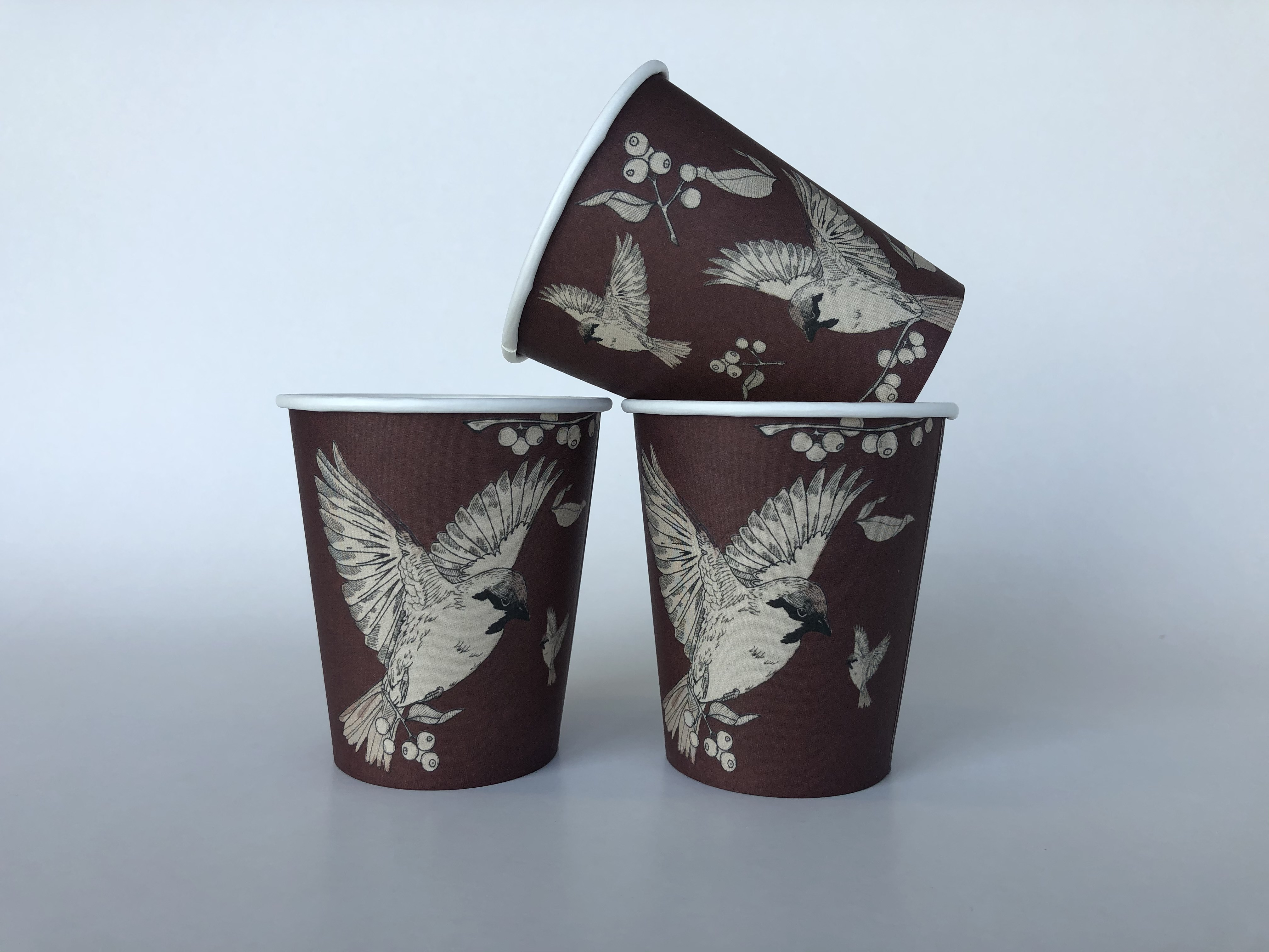 Brown Single Wall Paper Cups