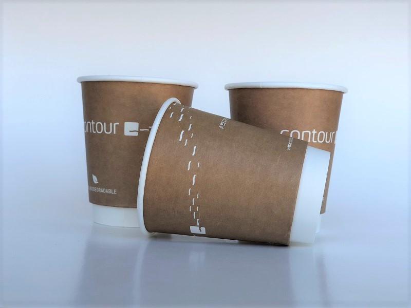 Light Brown Paper Cups