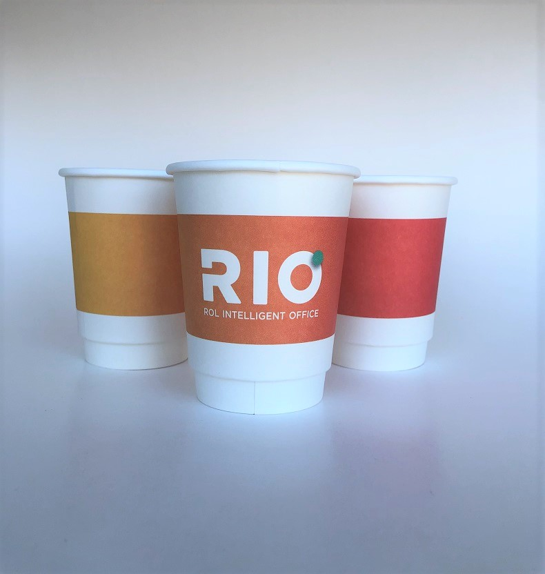 Personalized White Paper Cups