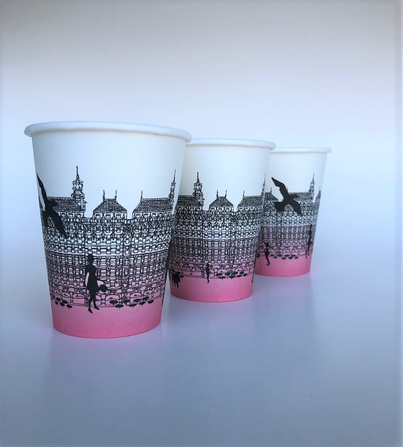 Paper Cups Advertising