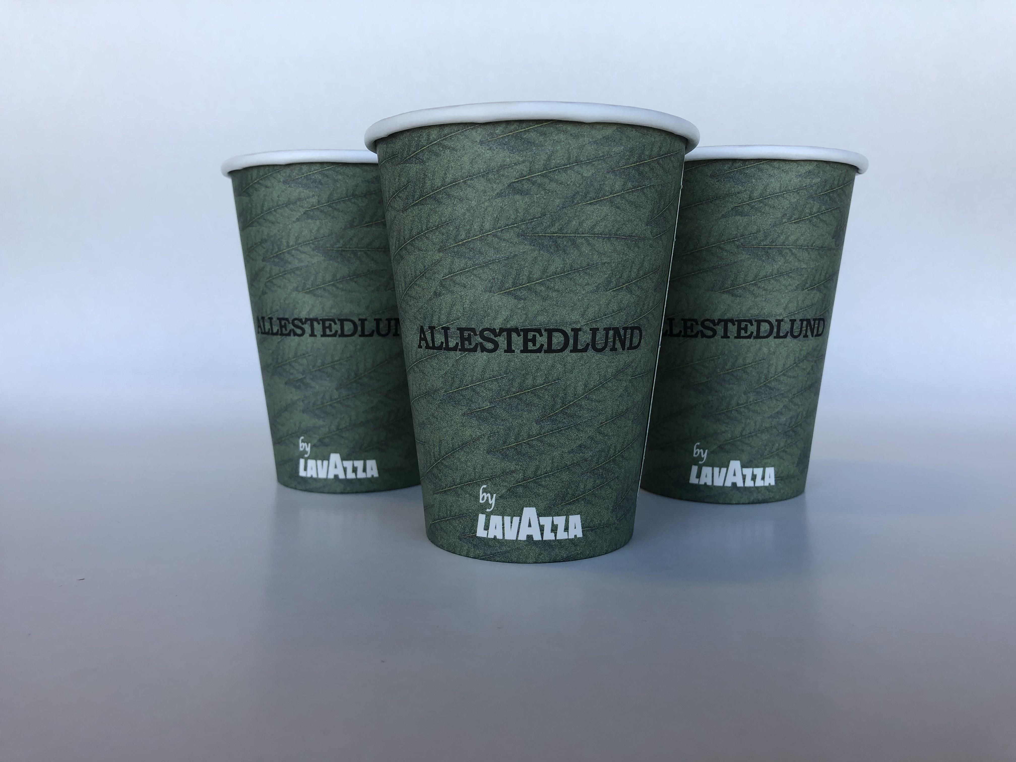 Green Single Wall Paper Cup Lavazza