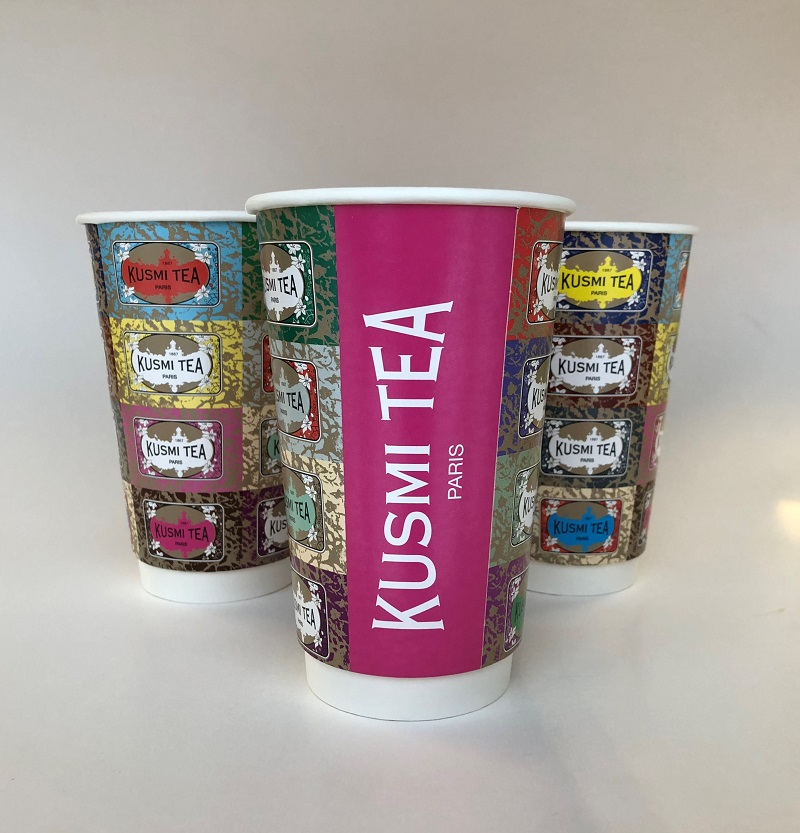 Colorful Double Wall Paper Cups