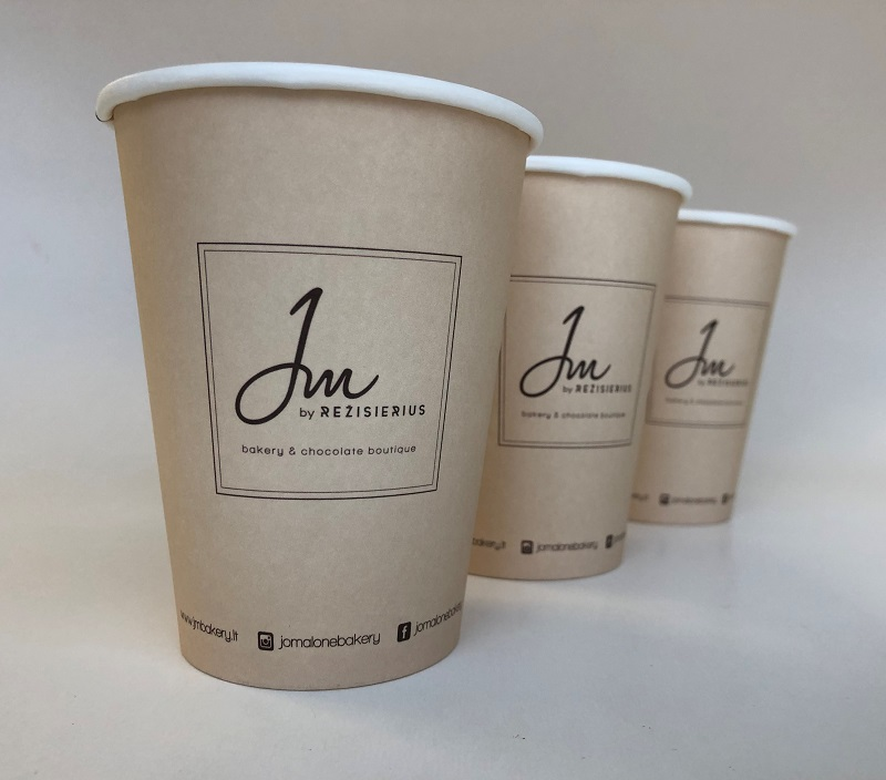 Single Wall Paper Cup For Bakery Boutique