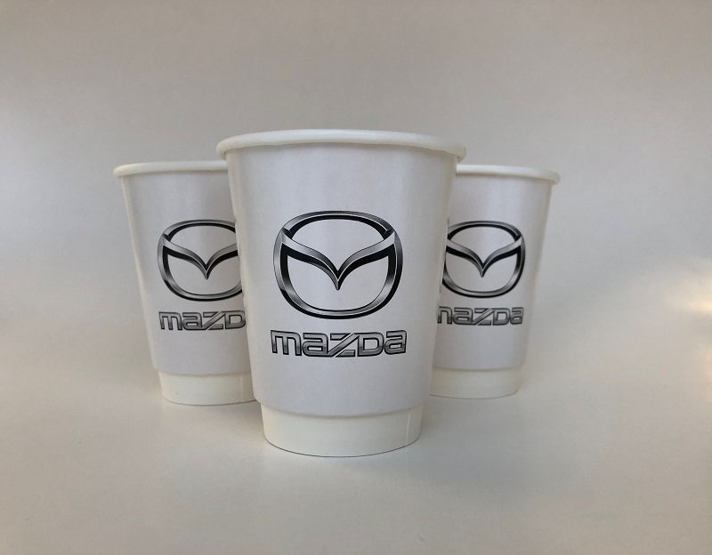 White Double Wall Paper Cup