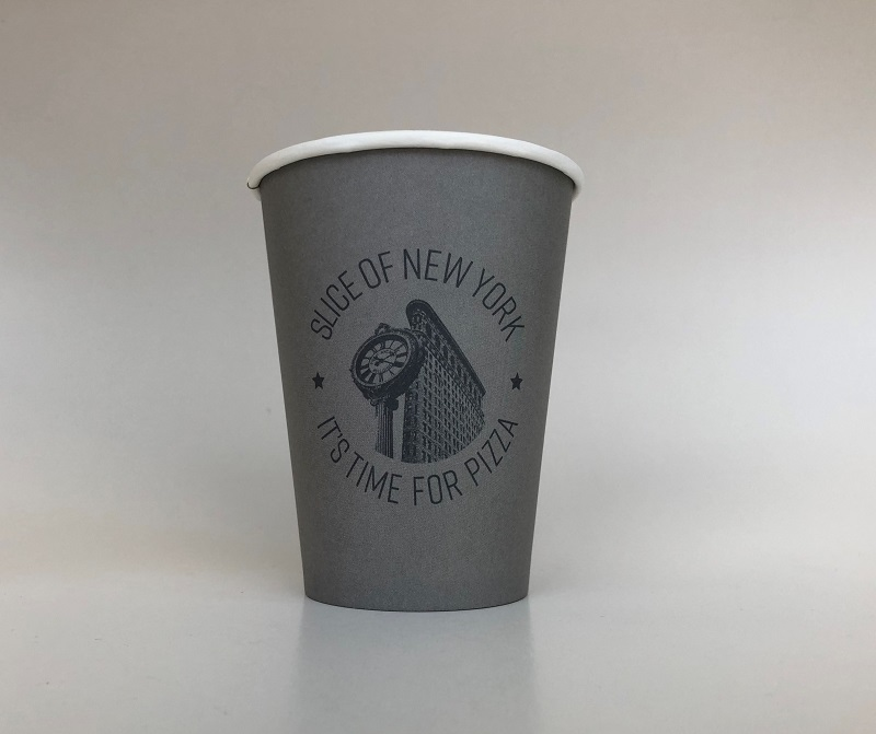 Grey Paper Cup
