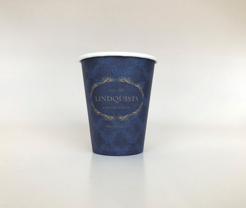 Branded Blue Paper Cup