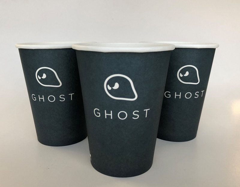 Single Wall Paper Cup With Custom Design