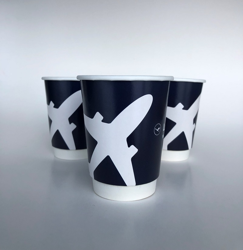 Gloss Double Wall Paper Cups for Business