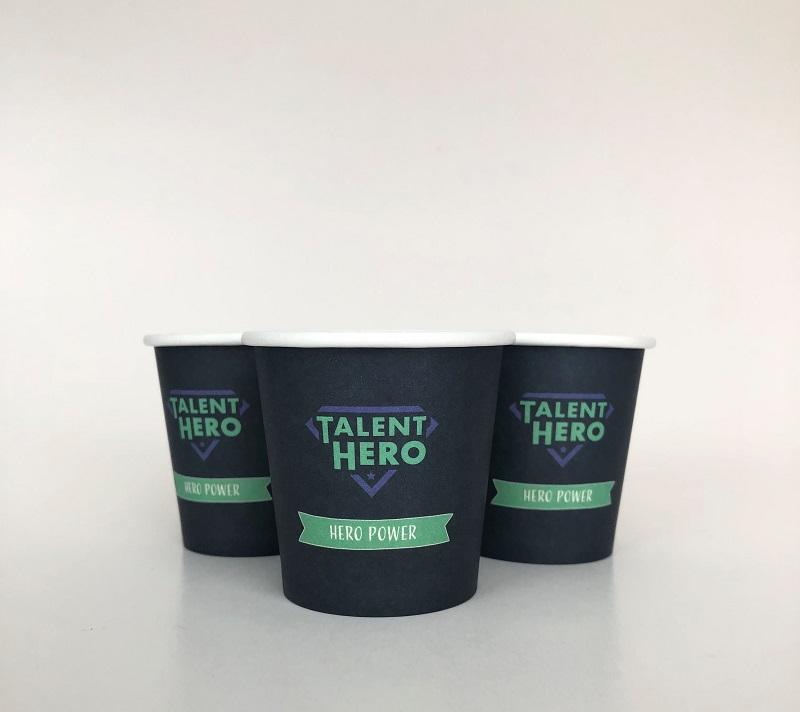 Navy Blue Paper Cups, 4oz
