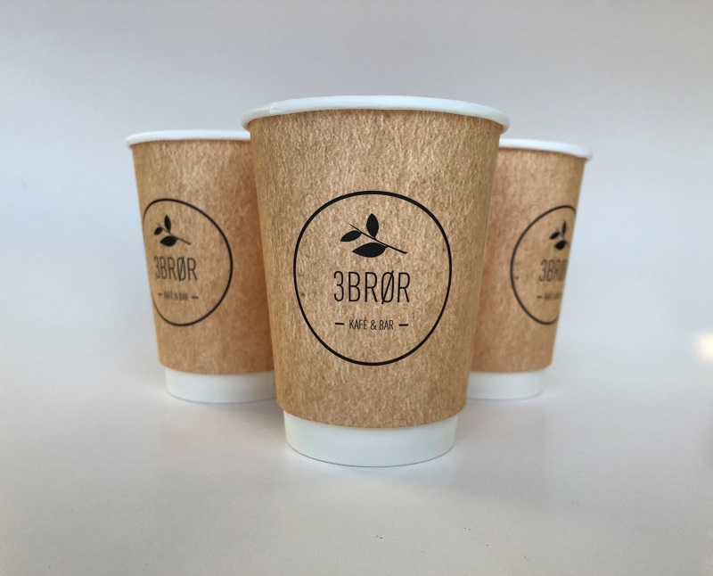 Double Wall Custom Design Paper Cup