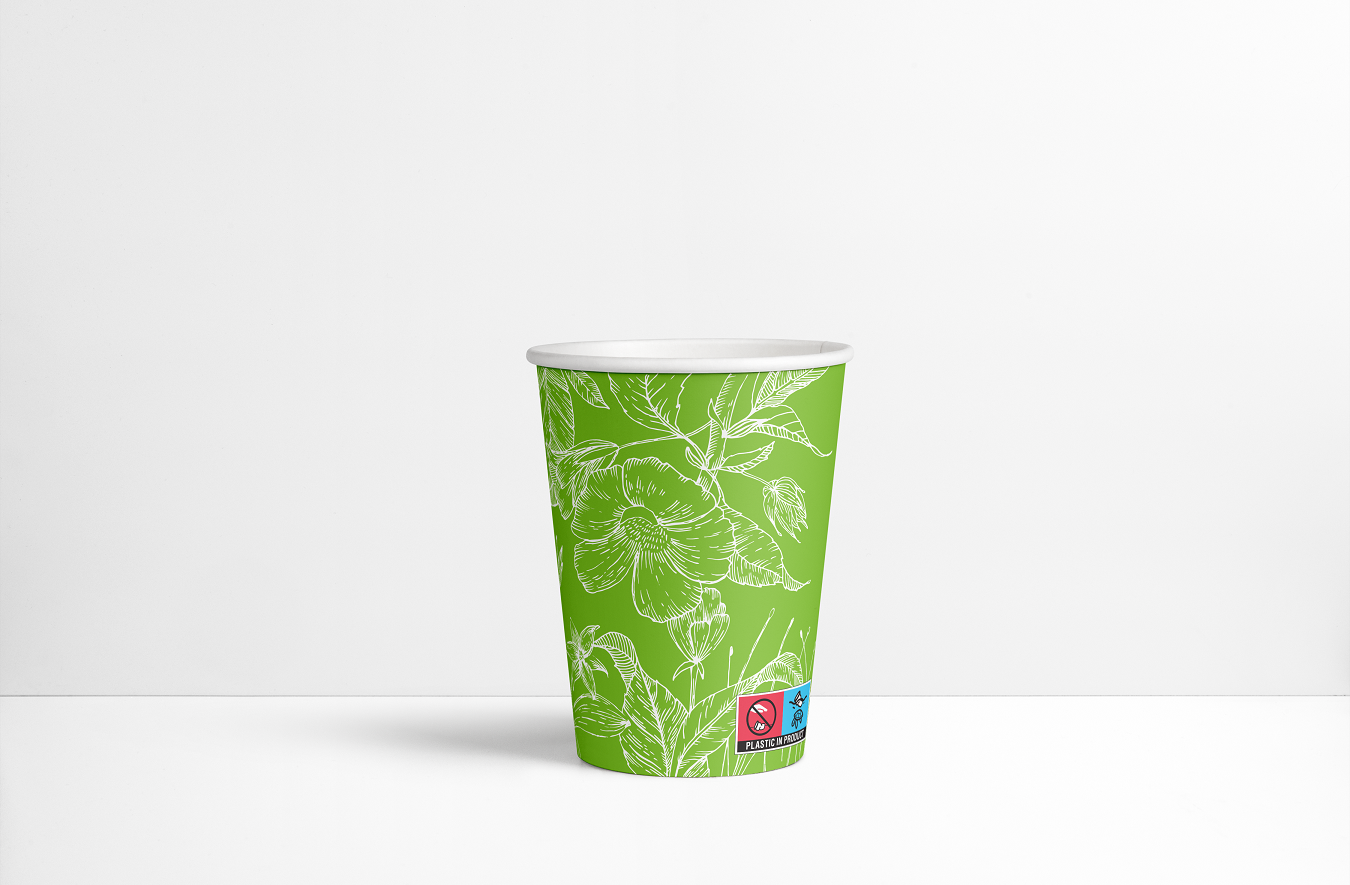 SUPD Paper cups labeling