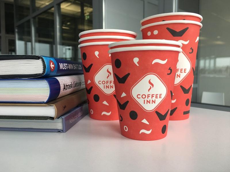 Proginiai popieriniai puodeliai